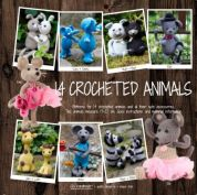 Go Handmade Toy Crochet Pattern Book 14 Crocheted Animals