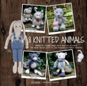 Go Handmade Toy Knitting Pattern Book 8 Knitted Animals