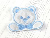 Teddy Bear Patch Motif