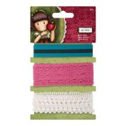 DoCrafts Simply Gorjuss Santoro Co Ordinating Trimmings 1m