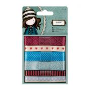DoCrafts Simply Gorjuss Santoro Co Ordinating Ribbons 1m