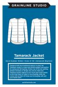 Grainline Studio Ladies Sewing Pattern 16002 Tamarack Jacket