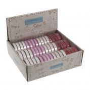 10mm Hearts & Handmade with Love Grosgrain Ribbon Spools 3m
