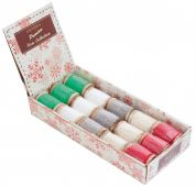 Christmas Cotton Lace Spools 3m
