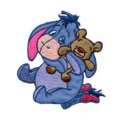 Eeyore Patch Motif  Purple