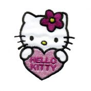 Hello Kitty Patch Motif  Multicoloured