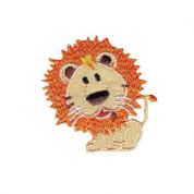 Lion Patch Motif  Beige