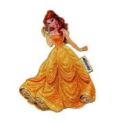 Beauty & The Beast Patch Motif  Yellow