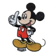 Mickey Mouse Patch Motif  Multicoloured