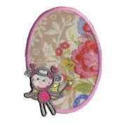 Girl Patch Motif  Multicoloured