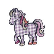 Pony Patch Motif  Lilac