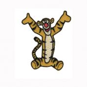 Tigger Patch Motif  Yellow