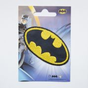 Batman Patch Motif  Black & Yellow