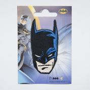 Batman Patch Motif  Black & Blue