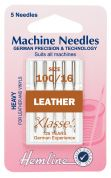 Hemline Leather Universal Sewing Machine Needles