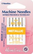 Hemline Metalfil Embroidery Machine Needles