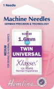 Hemline Twin Universal Sewing Machine Needles
