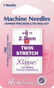 Hemline Twin Stretch Universal Sewing Machine Needles