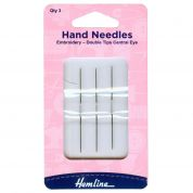 Hemline Double Tip Tapestry Cross Stitch Needles