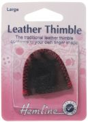 Hemline Leather Thimble