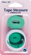 Hemline Sewing Tape Measure with Storage Tin 1.5m