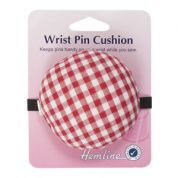 Hemline Sewing Pin Cushion for Wrist