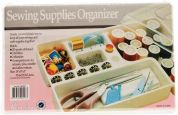 Hemline Sewing Supplies Organiser Plastic Box Tray