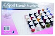 Hemline 40 Spool Sewing Thread Organiser Box