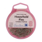 Hemline Steel Household Pins