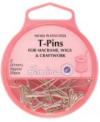 Hemline Long & Thick Craft T Pins