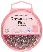 Hemline Dipped Head Dressmaking Pins