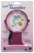 Hemline Hands Free Craft Neck Magnifier