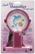 Hemline Hands Free Craft Neck Magnifier With Light