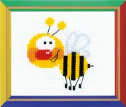 Happy Bee Cross Stitch Kits for Beginners Little Bee
