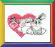 Happy Bee Cross Stitch Kits for Beginners You are my sweetheart