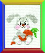 RIOLIS Counted Cross Stitch Kit Lop eared Bunny