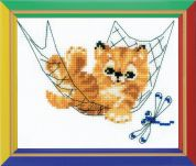 Happy Bee Cross Stitch Kits for Beginners Quiet Time