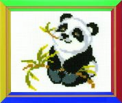 RIOLIS Counted Cross Stitch Kit Panda