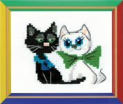 Happy Bee Cross Stitch Kits for Beginners Happy Pair