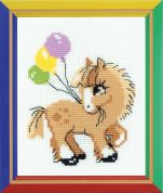 Happy Bee Cross Stitch Kits for Beginners Pony crony