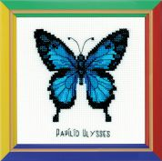 Happy Bee Cross Stitch Kits for Beginners Ulysses Butterfly