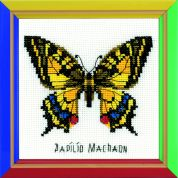 RIOLIS Counted Cross Stitch Kit Swallowtail Butterfly