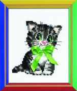 RIOLIS Counted Cross Stitch Kit Bow