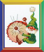 Happy Bee Cross Stitch Kits for Beginners Boom! Boom!