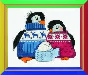 RIOLIS Counted Cross Stitch Kit Friendly Family