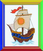 RIOLIS Counted Cross Stitch Kit On The Waves