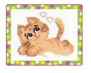 RIOLIS Counted Cross Stitch Kit Pussy Cat