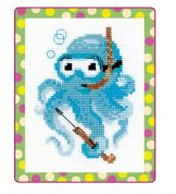 RIOLIS Counted Cross Stitch Kit Octopussy