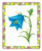 RIOLIS Counted Cross Stitch Kit Bellflower