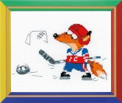 RIOLIS Counted Cross Stitch Kit Ice Hockey